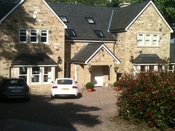 New build in Lanchester with mock sash windows